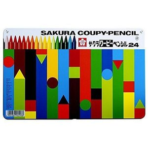 サクラ クーピー24色缶入 FY24の関連商品6