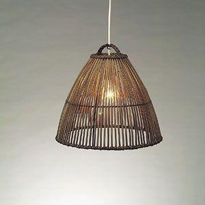 東京メタル工業 自然素材ペンダントライト照明 WDLD065|rcmdse