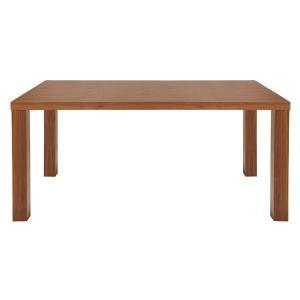 ついに再販開始 あずま工芸 ダイニングテーブル 幅140cm ウォールナット材〔2梱包〕 TDT-5110 情熱セール