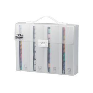 キングジム テプラ PRO テープカートリッジケース 約W3...