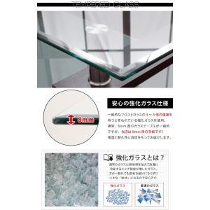 センターテーブル  ガラスセンターテーブル ローテーブル ガラス リビングテーブル ガラステーブル モダン コーヒーテーブル 代引不可 rcmdse 06