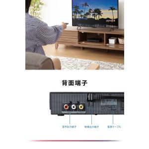DVDプレーヤー 再生専用 AVケーブル simplus シンプラス SP-DVD01 DVDプレイヤー CDプレーヤー コンパクト rcmdse 12