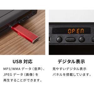 DVDプレーヤー 再生専用 AVケーブル simplus シンプラス SP-DVD01 DVDプレイヤー CDプレーヤー コンパクト rcmdse 09