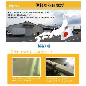日本製 国産 マットレス シングル 6つ折り 六つ折り 軽量 コンパクト 収納 折りたたみ コンパクト 6つ折りマットレス 代引不可|rcmdse|06