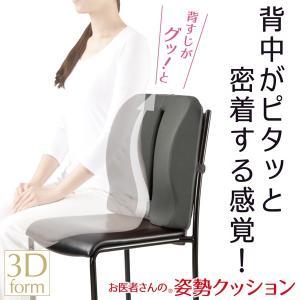 お医者さんの姿勢クッションクッション姿勢腰背筋座りながら体|rcmdse