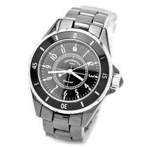 pierretalamon ピエールタラモン 腕時計 メンズ ウォッチ ジュエリーコレクション セラミック ブラック PT-1600H-BK|rcmdse