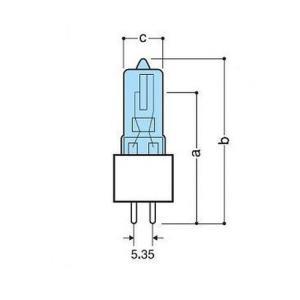 フェニックス JDハロゲン60W JD110V60WG5.35|rcmdse