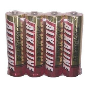 三菱 アルカリ単3電池4本P LR6R4Sの関連商品7