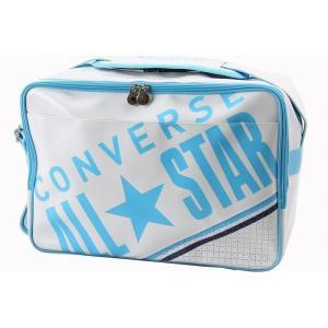 CONVERSE コンバース エナメルショルダー M C1612053 カラー ホワイト×サックス|rcmdse