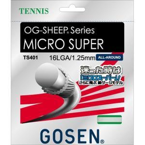 GOSEN ゴーセン OGミクロスーパー16L ホワイト TS401W ポイント10倍
