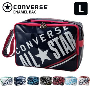 コンバース CONVERSE スポーツバッグ エナメルバッグ 通学バッグ ショルダーバッグ Lサイズ C1612052 27L|rcmdse
