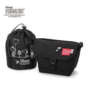 限定品 Manhattan Portage×PEANUTS Casual Messenger Bag Small Sサイズ 日本正規品 メッセンジャーバッグ MP1603PEANUTS18|rcmdse