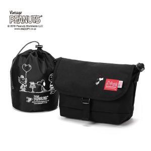 限定品 Manhattan Portage×PEANUTS Casual Messenger Bag Mサイズ 日本正規品 メッセンジャーバッグ MP1605JRSPEANUTS18|rcmdse