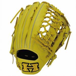 ハイゴールド Hi-Gold KKG-7518 軟式グラブ 心極シリーズ 外野手用 LH Nイエロー 野球用品|rcmdsp