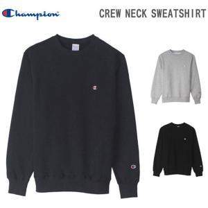 チャンピオン クルーネックスウェットシャツ CREW NECK SWEATSHIRT C3-C024|rcmdsp