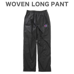 チャンピオン ウーブンパンツ WOVEN LONG PANT C3-LSD20 ブラック|rcmdsp