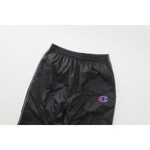チャンピオン ウーブンパンツ WOVEN LONG PANT C3-LSD20 ブラック|rcmdsp|02