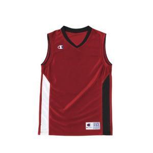 チャンピオン Champion ガールズゲームシャツ MINI BASKETBALL GAME CBGR2032-R|rcmdsp