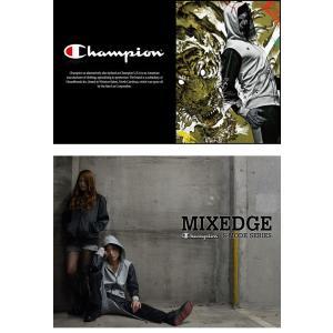 Champion チャンピオン S-MODE MIXEDGE ミックスエッジ フードシャツ 上下セット ウェア ジャージ rcmdsp 02