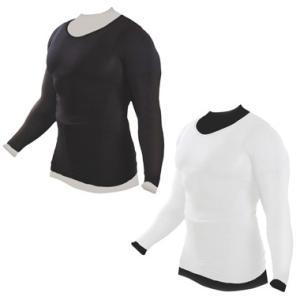 加圧インナーシャツ 加圧シャツ 長袖 メンズ ブラック ホワイト Muscle Project マッスルプロジェクト 棚橋弘至 推薦|rcmdsp