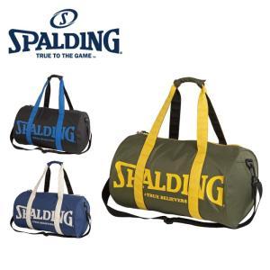 SPALDING スポルディング バッグ ドラムボストン 40-016 DRUM BOSTON バッグ バスケットボール用 ボストンバッグ|rcmdsp