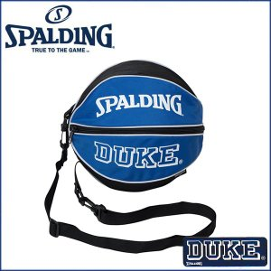 SPALDING ボールバック スポルティング バッグ ボールバック 49-001DK DUKE バスケットボール用 1個 収納|rcmdsp
