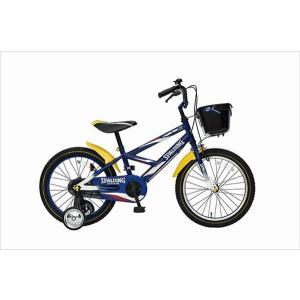 SPALDING スポルディング 自転車 子供用 16インチ 16SPL ソニックスターjr.−14 5000 ブルー(代引き不可) rcmdsp