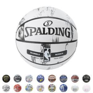 SPALDING バスケットボール 7号球 NBA公認 ラバー 野外 柄物 中学 高校 大学 男子 バスケ|rcmdsp