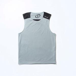 SPALDING スポルディング リバーシブルノースリーブシャツ SMT130190 グレー 1200