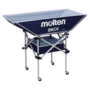 モルテン Molten 折りたたみ式平型軽量ボールカゴ 背高 ネイビー BKCVHNV|rcmdsp