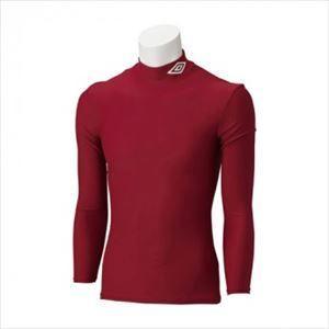 アンブロ umbro サッカー ジュニア JR L/Sコンプレッションシャツ UAS9300J DRED|rcmdsp
