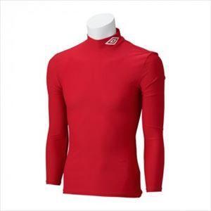アンブロ umbro サッカー ジュニア JR L/Sコンプレッションシャツ UAS9300J MRED|rcmdsp