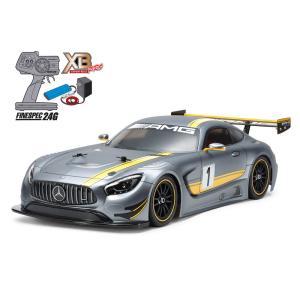 XBシリーズ(完成モデル) No.200 1/10RC XB MERCEDES-AMG GT3 (TT-02シャーシ)|rct-one
