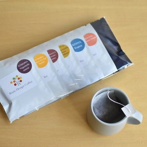 コーヒーバッグ スペシャルティコーヒー飲み比べ ドリップバッグより簡単 シングルオリジン コーヒー5p×2種セット rdc