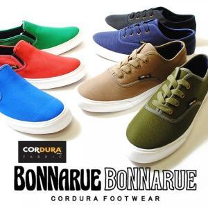 コーデュラナイロン[CORDURA] スニーカー スリッポン レースアップ シューズ 靴 /メンズ BONNARUEBONNARUE ボナルーボナルー|re-ap