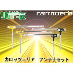 carrozzeriaカロッツェリア地デジチューナーGEX-900DTV用フロントフィルム4アンテナ左右セット|re-birth