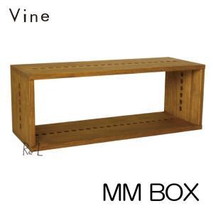 日本製 Vine ヴァイン MM BOX キューブボックス cubebox オープン 完成品 カラーボックス ディスプレイラック ウッドボックス|re-l