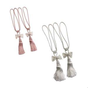 プリンセスマリーシリーズリボンタッセル2個セットカラー:ピンクまたはベージュRE01APRM-110...