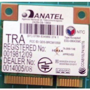 ノートPC用 内臓Wi-Fi 無線LANカード ANATEL BRCM-10501 re-works