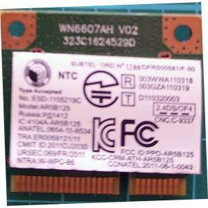 ノートPC用 内臓Wi-Fi 無線LANカード AR5B125 re-works