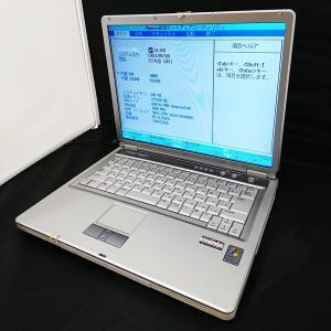中古ノートパソコン NEC PC-LL350CD 256MB WindowsXP  AMD Sempron TM  プロセッサ 2600+ re-works