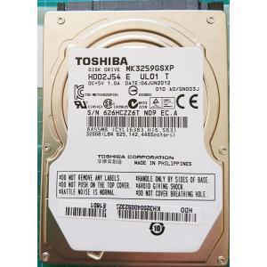 ノートパソコン TOSHIBA 中古ハードディスク HDD2.5インチ SATA 320GB 使用2000〜3000時間 フォーマット済 交換増設用 動作確認済|re-works