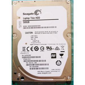 ノートパソコン Seagate 中古ハードディスク HDD2.5インチ SATA 500GB 使用1000〜2000時間 フォーマット済 交換増設用 動作確認済 re-works