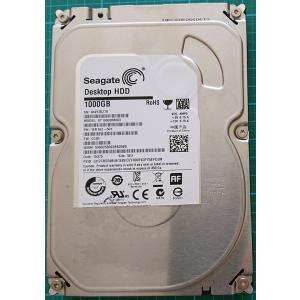 デスクトップパソコン Seagate  中古ハードディスクHDD3.5インチ SATA 1000GB 1TB 使用〜1000時間 フォーマット済 交換増設用 動作確認済 re-works