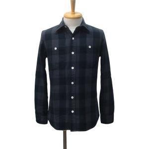 PARANOID(パラノイド) バッファローチェック ネルシャツ GRY