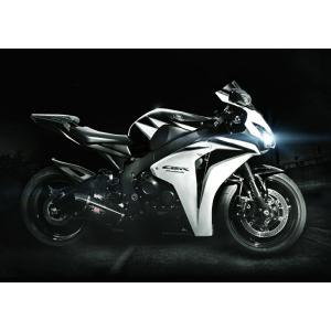 絵画風 壁紙ポスター  ホンダ CBR1000RR ファイヤーブレード 2009年 スーパーバイク バイク キャラクロ 10RR-002A2 (A2版 594mm×420mm)|real-inter