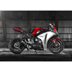 絵画風 壁紙ポスター  ホンダ CBR1000RR 2012年 スーパーバイク バイク キャラクロ 10RR-003A1 (A1版 830mm×585mm)|real-inter
