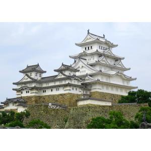 絵画風 壁紙ポスター (はがせるシール式) 姫路城 白鷺城 ...