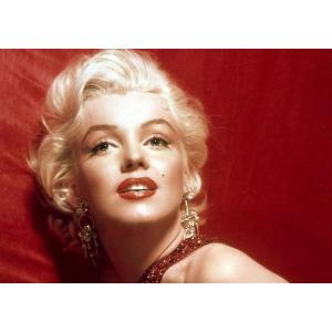絵画風 壁紙ポスター  マリリン モンロー Marilyn Monroe キャラクロ MAM-007A1 (A1版 830mm×585mm)|real-inter