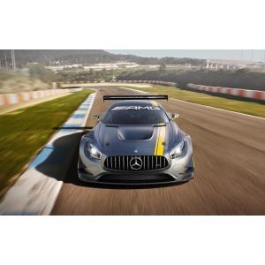 絵画風 壁紙ポスター  メルセデス ベンツ AMG GT3 チューニングカー キャラクロ MBGT-...